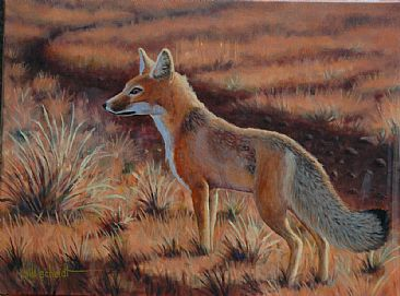 The 2015 Annual Wyoming Conservation Stamp Art Competition Took Place On April 10th In Cheyenne Bill Scheidts Painting Lookout Was Chosen As 4th