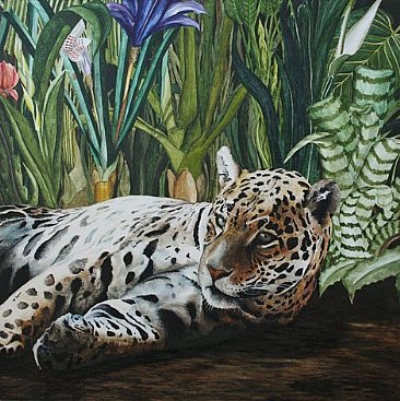 hold on, hold on - Jaguar by Daniela Hartl-Heisan