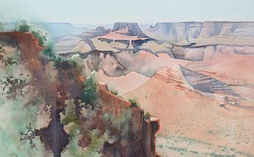 Grand Canyon Afternoon - Grand Canyon by Linda Sutton