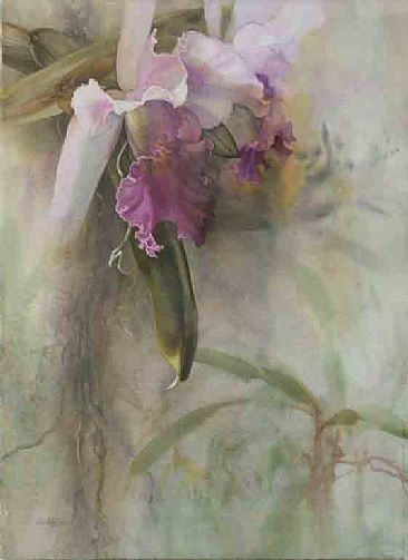 Imposing Prescents - Common Cattleya by Linda Sutton