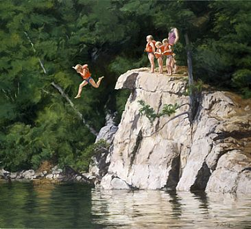 Thrill Seekers - Tradition and good memories are attached to places like this. by Sheila Ballantyne