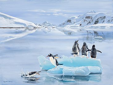 The Lost Continent - Penguins by Pollyanna Pickering