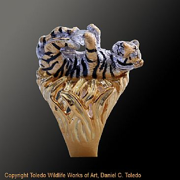 Bengal Tiger Painting Art by Daniel Toledo