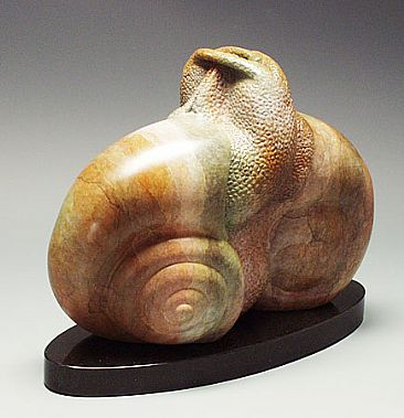 Courtship - Mating Snails by Victoria Parsons