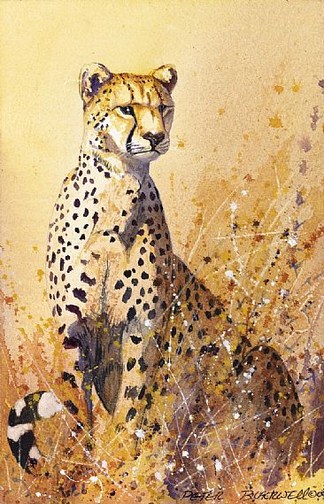 Spots Alive - African Wildlife by Peter Blackwell