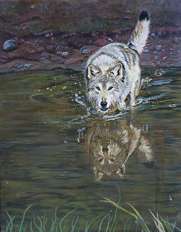 Alter Ego - wolf by Theresa Eichler