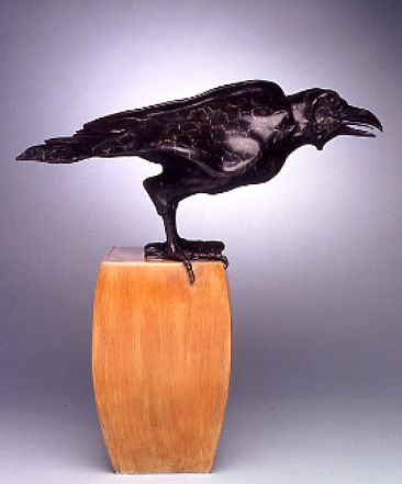 Rufus - raven by Diana Reuter-Twining
