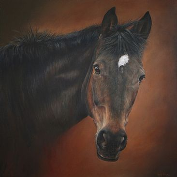 Ma Cherie - Horse, Equestrian by Wendy Palmer