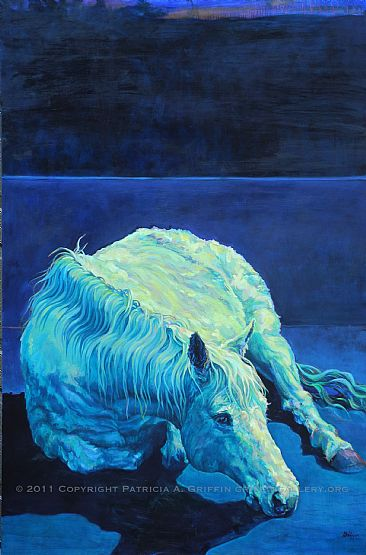 EQUINOX - www.griffingallery.org,horse by Patricia Griffin