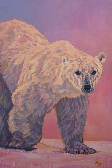 Kanuk - Polar Bear by Patricia Griffin