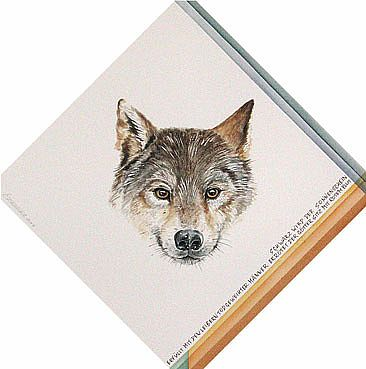 oupoyaout - Wolf by Norbert Gramer