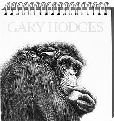 Gary Hodges Postcard Book - Mixed wildlife drawings by Gary Hodges