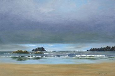 After The Storm - Seashore by Patricia Banks