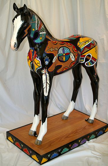 Centurylink Net Login >> Hand Painted Horse model - note-- LIFE SIZE - Sculpture ...