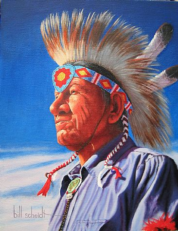 Native Pride - Native American by Bill Scheidt