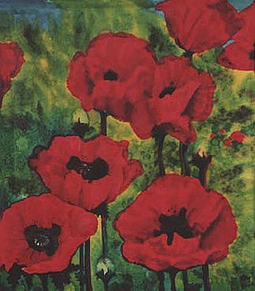 Poppies - Flowers - Poppies by Kay Polito