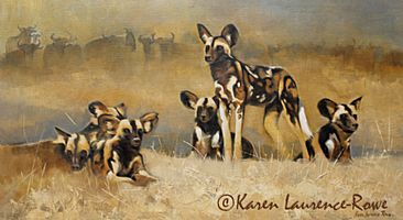 Wild Dog pack - Wild Dog by Karen Laurence-Rowe