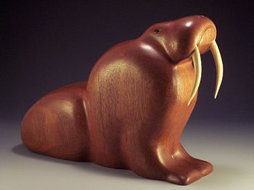 Lord of the Northern Seas - Walrus by Hap Hagood