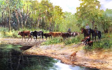 Blackburn Ranch - Cattle Ranch in Florida by Morten Solberg