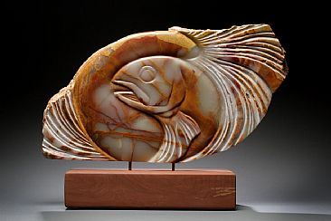 """AIR-TIME"" - fish by Dahrl Thomson"