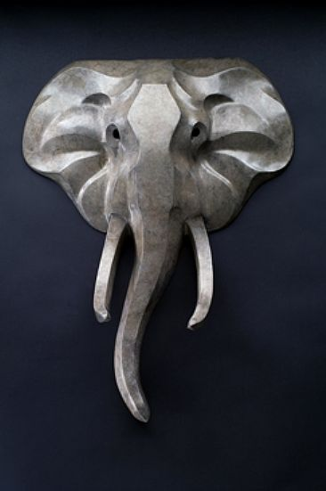 Elephant Mask - African Elephant head by  Rosetta
