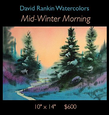 Mid-Winter Morning -  by David Rankin