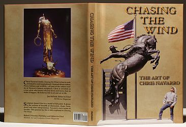 CHASING THE WIND  THE ART OF CHRIS NAVARRO - Book  by Chris Navarro