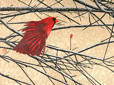 Stretch - Cardinal by Andrea Rich