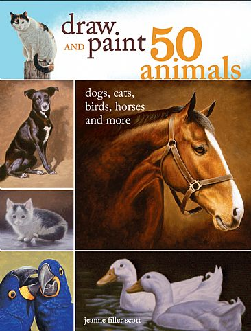 Draw and Paint 50 Animals - Animals by Jeanne Filler Scott