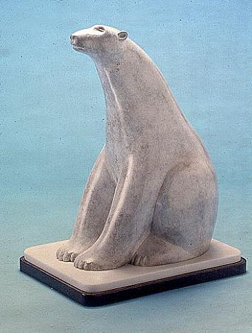 Northern Sphinx - Polar Bear by Charles Allmond