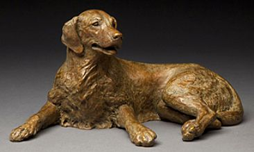 Merry Sunshine - Golden Retreiver by Joy Beckner