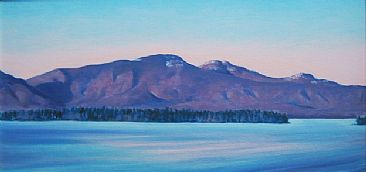 Red Dawn on Vancouver Island - Gulf Islands Sketches by J. Sharkey Thomas