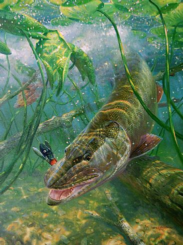 IN THE THICK OF IT  - Musky by Mark Susinno