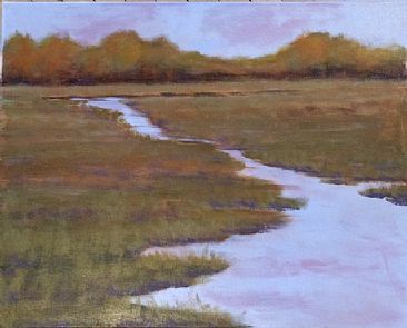 Fall Colors - Landscape, Riverscape by Betsy Popp