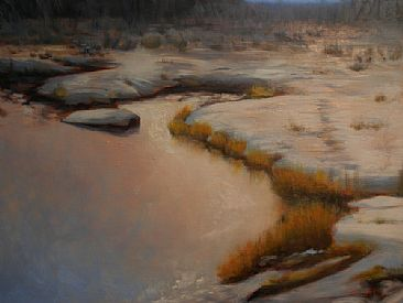 Morning Light - Landscape by Betsy Popp