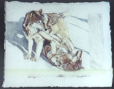 Alpha and Omega 2 (SOLD) - Wolves by Susie Gordon