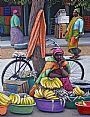 Waiting - Banana seller -  by Judy Scotchford (2)