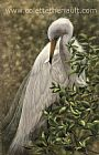 Great Egret (SOLD) - Great Egret  by Colette Theriault (2)