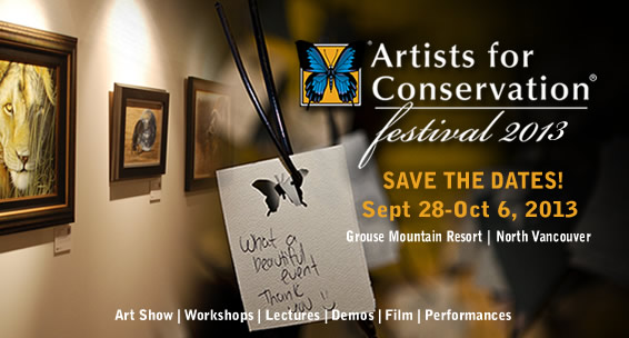 Artists for Conservation presents 2011 Artists for Conservation Festival - Opening November 5, 2011