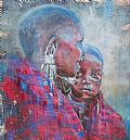 Maasai portraits - Nature Art by Gregory Wellman