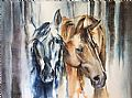 Equine - Nature Art by Sandi Lear