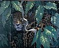 Mammals of the Tropics - Nature Art by Richard Sloan (1935-2007)